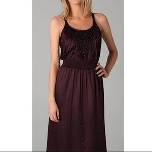 Rebecca Taylor Beaded Tank Midi Dress Size 2